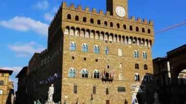 Town hall Palazzo Vecchio — Stock Video