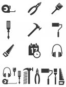Tool icons — Stock Vector