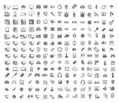 Big set of Coputer icons — Stock Vector