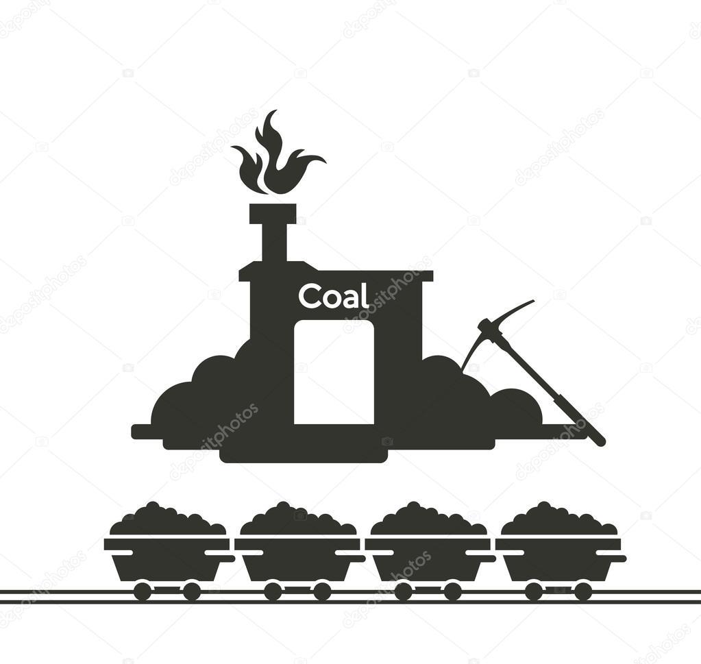 Bergwerk Symbol