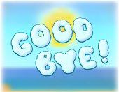 Goodbye — Stock Photo
