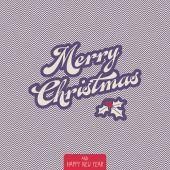 Vintage christmas card — Stockvector
