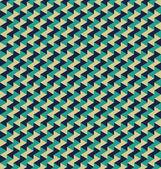 シームレスな幾何学模様 — ストックベクタ