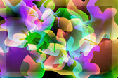 Abstract magic background — Cтоковый вектор