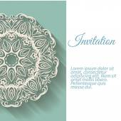 Banners invitation — Vettoriale Stock