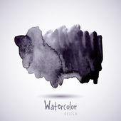 Watercolor design element — Stock Vector