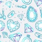 Seamless pastel diamonds pattern — Stock Vector #72348403