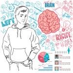 Creative brain Idea — Stock Vector #72348845
