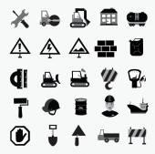Verkehrs- und Zeichen — Stockvektor