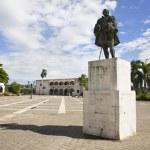 ������, ������: Diego Colon palace in Square of Spain in Santo Domingo in the caribbean Dominican Republic