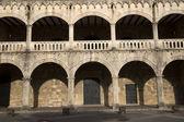 Diego Colon palace in Square of Spain in Santo Domingo in the caribbean Dominican Republic — Stock Photo