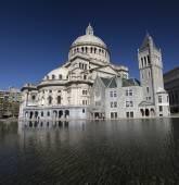 The First Church of Christ Scientist in Christian Science Plaza in Boston, MA, USA — Stock Photo