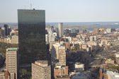 Boston's panoramic view as it is seen from Prudential tower — Stock fotografie