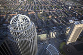 Boston's panoramic view as it is seen from Prudential tower — Stock Photo