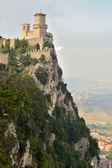 View of the state of San Marino Monte Titano  — ストック写真