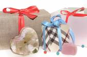 Gifts for Christmas and New Year for all the family — Stok fotoğraf