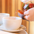 Cup of herbal tea — Stock Photo #70989067