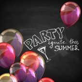 Ignite this summer party. — Stock Vector