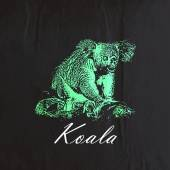 Green koala bear — Stock Vector