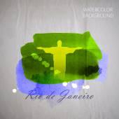 Watercolor Jesus Christ — Vetor de Stock