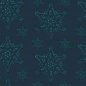 Graceful snowflakes on background — Vector de stock