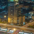 Close up the elevated highway in Bangkok cityscape — Stock Photo #52320307