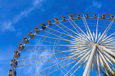 Some part of Ferris Wheel at evening time — Stock Photo