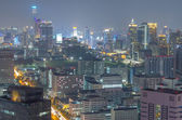 El distrito de negocios céntrico edificio moderno de bangkok. — Foto de Stock