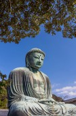 Daibutsu in Kamakura, Japan, public domain — Stock Photo