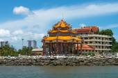 CHONBURI, THAILAND - JUNE 28: The pavilion of Guan Yin statue at — Stock Photo