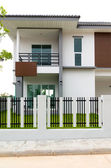 Exterior new Townhome or Townhouse — Stock Photo