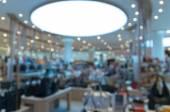 Shop-Weichzeichner mit Bokeh-Hintergrund — Stockfoto