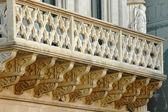 Historické balkon — Stock fotografie