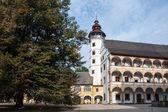 Slottet Velké Losiny i Mähren — Stockfoto
