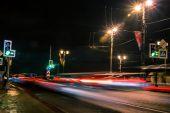 Stadens nattliv — Stockfoto
