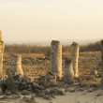 Standing Stones natural phenomenon — Stock Photo #62361233