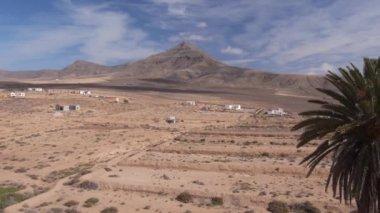 Desert in Canary islands — Stock Video