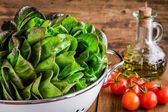 Green salad ingredients — Foto Stock