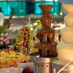 Chocolate fondue — Stock Photo #53038055
