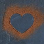 Cocoa Heart — Stock Photo #77843104