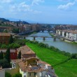 Постер, плакат: View of Florence from the tower of San Niccolo Italy