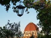 Cappelle mediceee al atardecer, florencia, italia — Foto de Stock