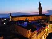 Church of Santa Maria Novella at sunset, Florence, Italy — Stock Photo