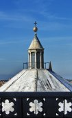 View of the top baptisteryl of Florence, Italy — Stock fotografie
