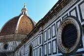 Detail of the Cathedral of Florence, Italy — Stock Photo