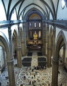 Interior of the Cathedral of Florence, Italy — Stock Photo