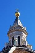 Laterne der kuppel der kathedrale von florenz, italien — Stockfoto