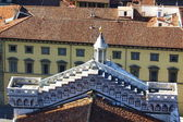View from the terraces of pediment of the Cathedral, Florence, Italy — Stock Photo