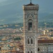 Giotto bell tower, Florence, Italy — Stock Photo #55666047