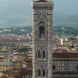 Giotto bell tower, Florence, Italy — Stock Photo #55666087